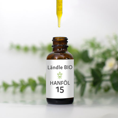 Ländle Bio Hanföl, 15%